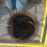 Manhole at 16th St& Arkansas Ave NW