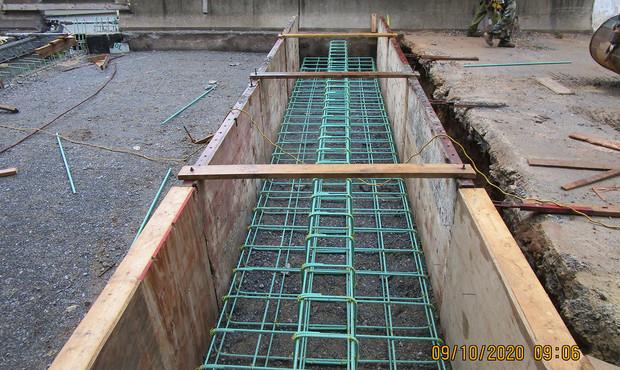 Sleepe Slab Construction at Ramp C East