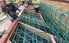 Suitland: Installing beam seat