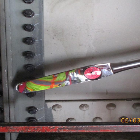 Torquing Bolts for Jacking Angles