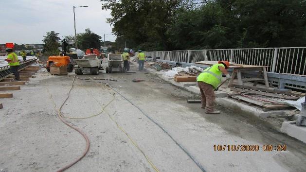 Surface Preparation for LMC, South Bridge.