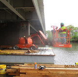 Jacking Angle Installation Operation, South Bridge.
