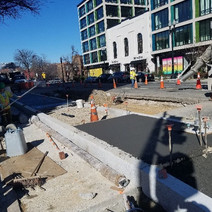 Finishing of concrete completed by FMCC