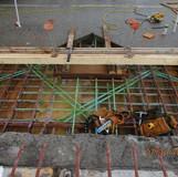 Scupper Reconstruction, South Bridge.