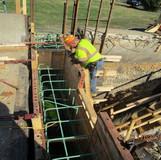 Backwall Reconstruction at East Abutment, North Bridge.