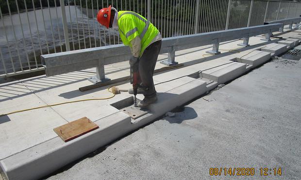 South Bridge Historic Railing Installation