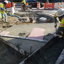 Placement of ADA Ramps at the NE Corner of 14th and Rhode Island Ave