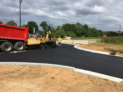 Anacostia Dr. - Paving roadway