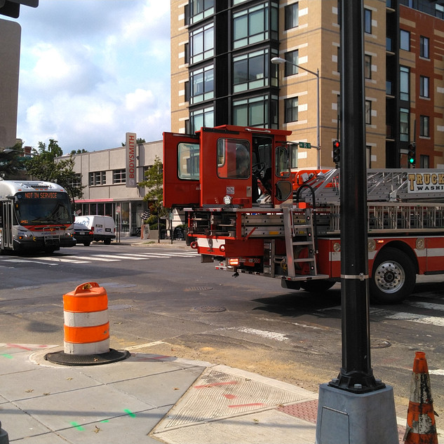 Temporary Closure of 14th St. NW between R St. and S St. NW due to utility issue.