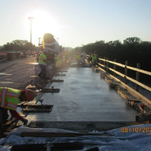 East Capitol Street Bridge Over Anacostia River, Bridge Sidewalk Concrete.
