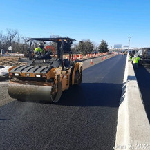 East Capitol Street Bridge Over Anacostia River, Paving, East Approach.