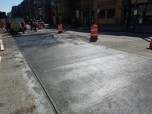 PCC Pavement Repair between Florida Ave and W Street