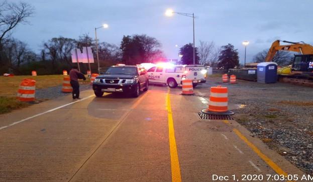 Incident at I-295NB Ramp.