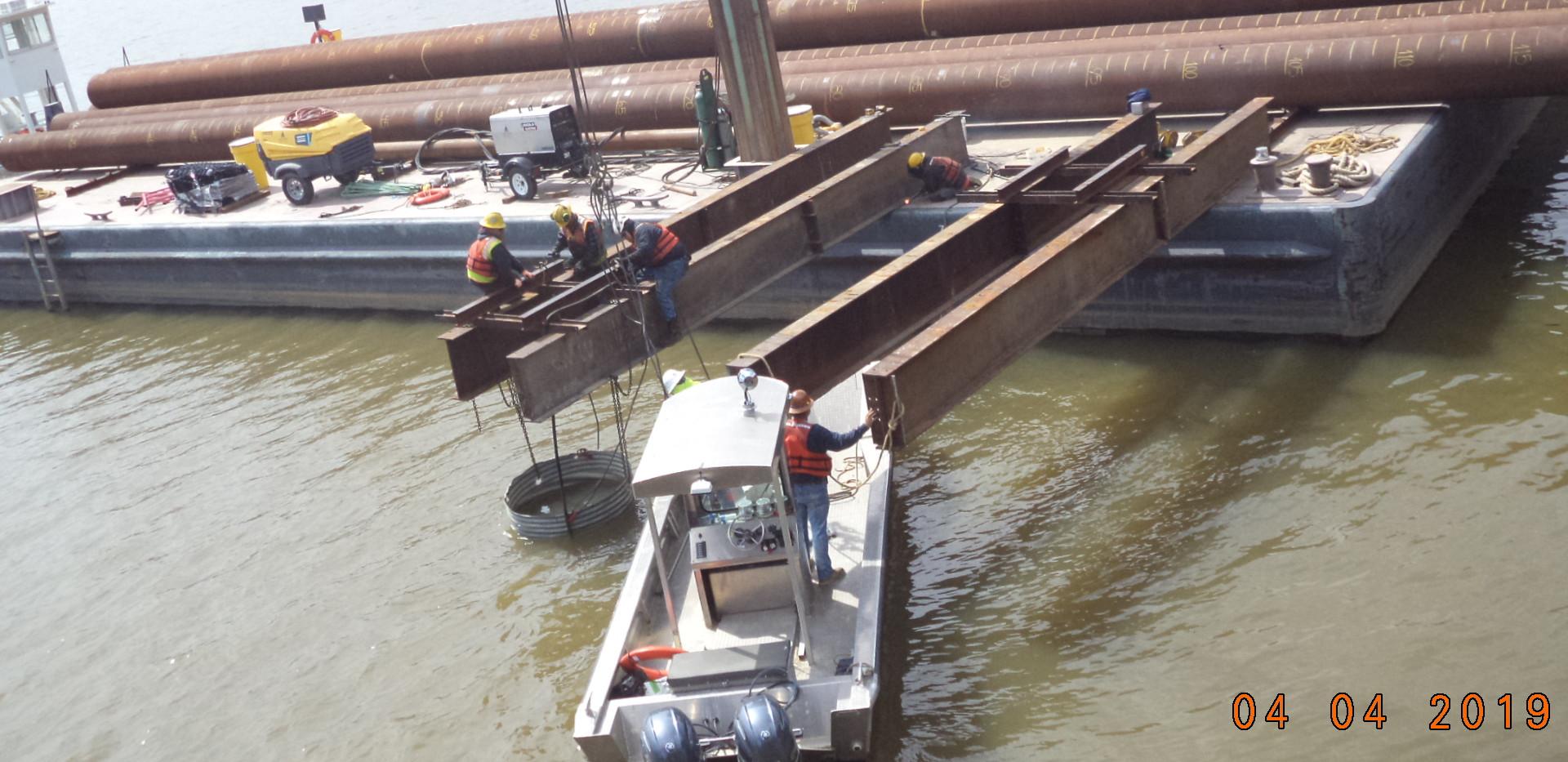 Tugboat Barge Delivery