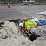 Strip Seal Joint Reconstruction, South Bridge.