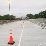 Phase 3 Traffic Switch looking west, North Bridge.