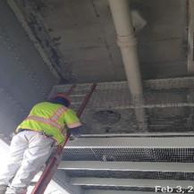 Punchlist Work at Maintenance Platform.