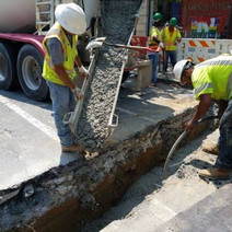 """Encasement of 2"""" PVC Conduit for Lateral between P Street and Church St."""
