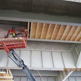 Installing Demo Shield at Span 3, South and North Bridge