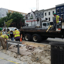 Bus Shelter removal by FMCC at NWC of 14th & W St.