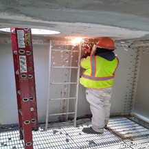Relocating Maintenance Ladder.