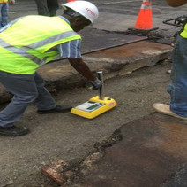 QA/QC testing for compaction of aggregate base material