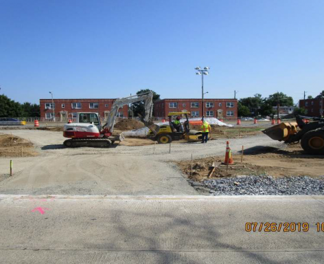 Subgrade Preparation, Temporary Ramp A and B/C, East Gore