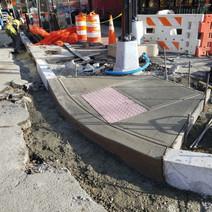 Placing ADA Ramp at the SE Corner of 14th