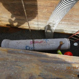 """Installing 18"""" RCP Storm Drain Pipe Between Proposed M-2 and M-3"""