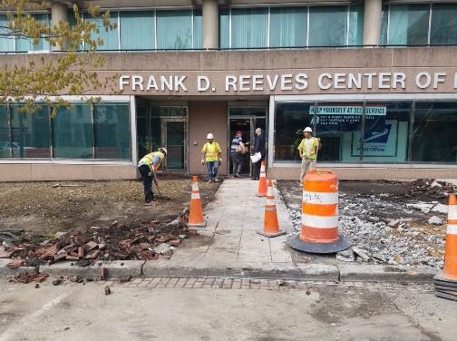 PCC Sidewalk Replacement on 2000 Block of 14th Street