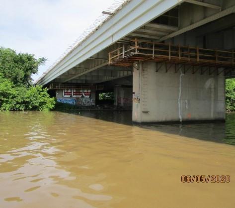 East Capitol Street Bridge Over Anacostia River, South Bridge Substructure Work.