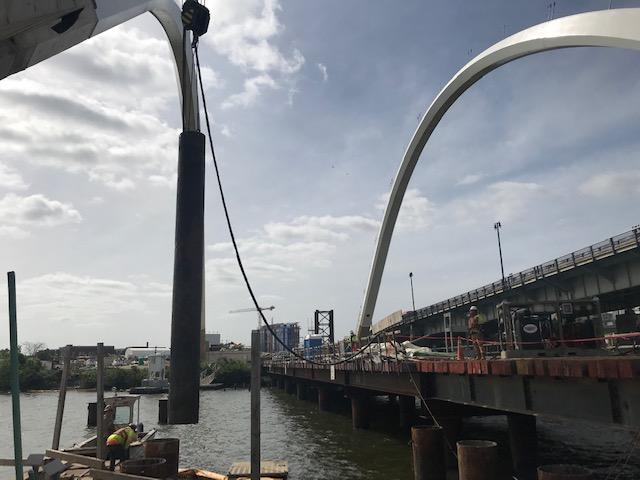 V-Pier 1 - Cutoff piles