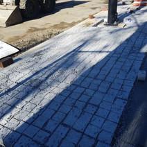 Installation of Granite Cobble Stone between Rhode Island & P Street