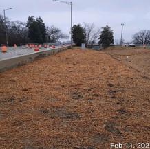 Soil Stabilization, East Approach.