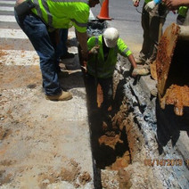 Omni continued the Installation of 8-Inch D.I.P at 14th & R Street NW