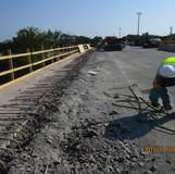 Removing Existing Parapet, North Bridge
