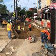 Excavating for Bio- retention PR-2013A BR1-BR3