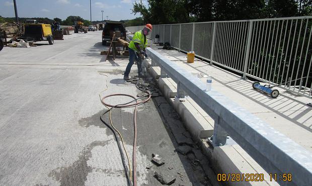 Historic Railing Installation South Bridge
