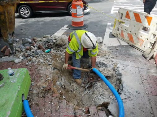 Removal of Existing Traffic Signal / Streetlight Foundation at the SW Corner of Rhode Island Ave