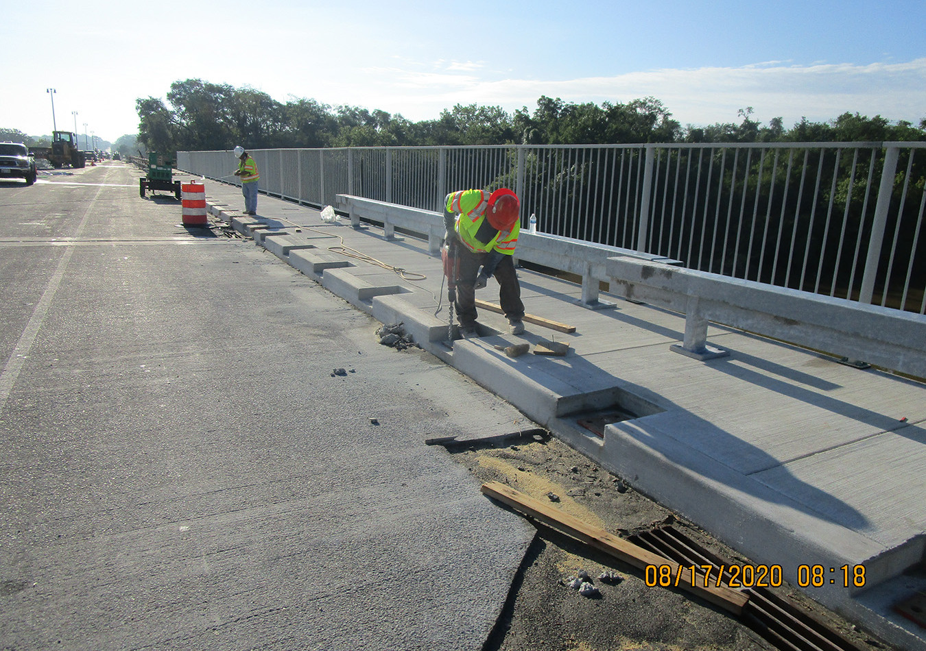 South South Bridge Historic Railing Installation