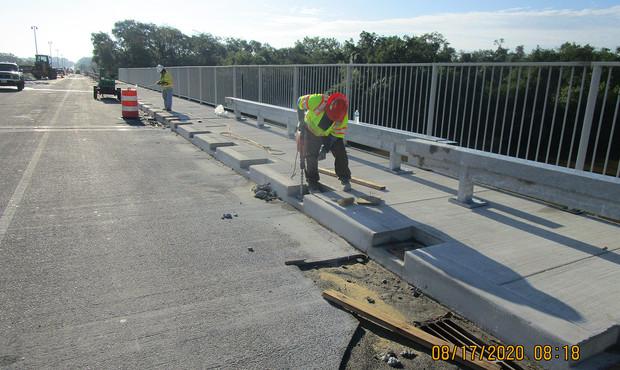 South South Bridge Historic Railing Installation