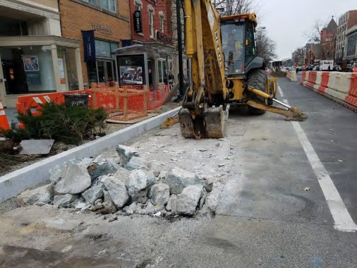 Demo of Existing Bus Pad