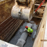 "Installing 18"" Drain Pipe Between Existing Manhole #31 and Proposed Manhole #2"