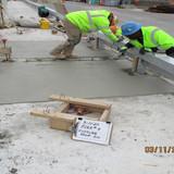 Joint Closure Concrete Placement