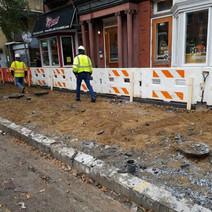 Demolition of PCC Sidewalk between N Street and Rhode Island Ave
