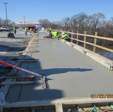 Placing Lightweight Concrete