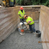 Backfill and Compaction at Proposed M-2, Pedestrian Connection Path