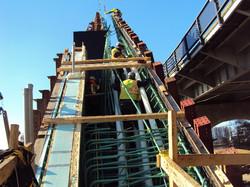Repair work for V-Pier 1 South