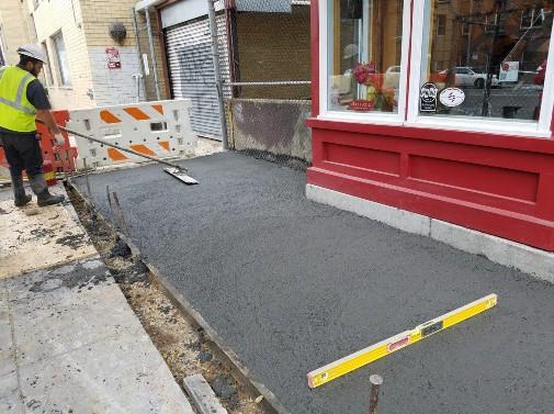 PCC Sidewalk Replacement between N Street and Rhode Island Ave on Westside