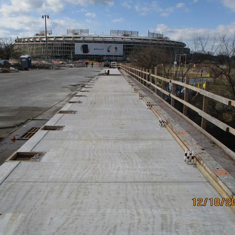 New Sidewalk, North Bridge.